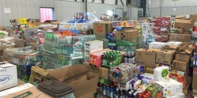 Arrivée massive de dons pour les sinistrés de Fort