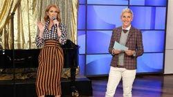 Céline Dion fait tourner les têtes avec sa tenue sur le plateau