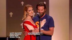 Céline Dion et Bradley Cooper ont partagé ce moment émouvant