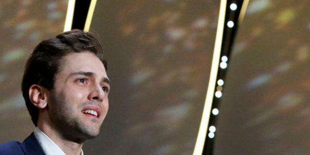 Director Xavier Dolan, Grand Prix award winner for his