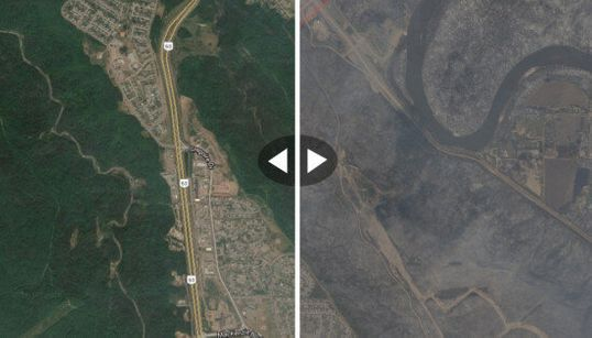 Fort McMurray: les images satellites