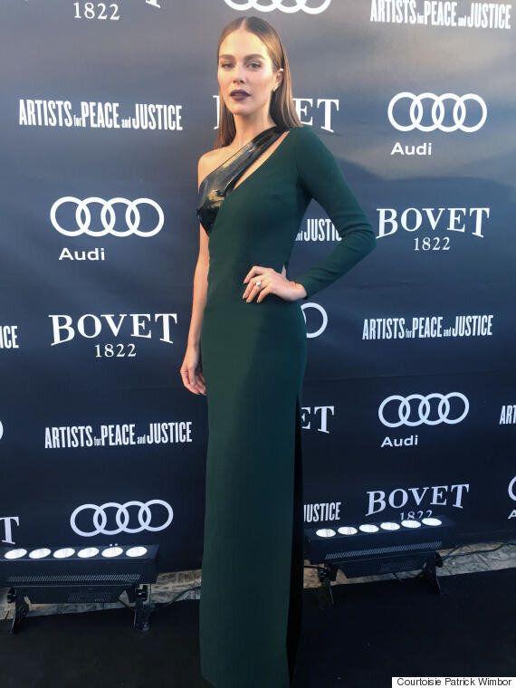 TIFF 2016 - Maripier Morin porte la 1ère robe créée par l'ex-styliste de Céline Dion: Annie Horth x Éditions...