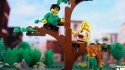 Ce cadeau de mariage en Lego n'est pas à la portée de tout le monde!