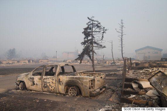 Feux de forêt à Fort McMurray : les photos de la ville