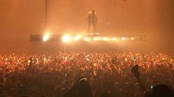 Kanye West électrise le Centre