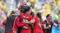 Soccer féminin: les Canadiennes sont quatrièmes au