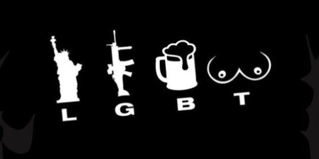 Ce t-shirt LGBT provoque une vague