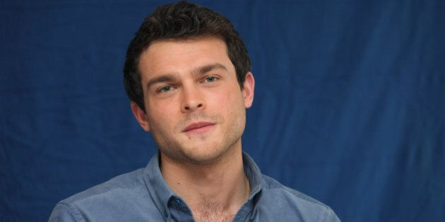 Alden Ehrenreich attends the movie junket 'Beautiful Creatures' in Los Angeles on February 01,