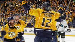 Mike Fisher est le héros pour les Predators en 3e