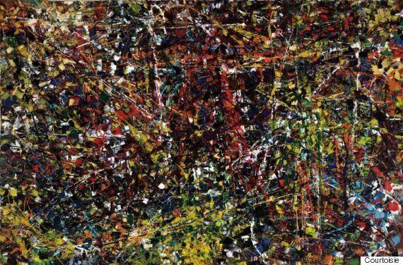 La toile «Vent du nord» de Jean Paul Riopelle vendue pour 7,4 millions