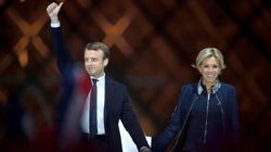 Quand Brigitte Macron tape sur les doigts de son