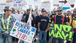 Grève de la construction: Couillard déposera une loi spéciale lundi s'il n'y a pas