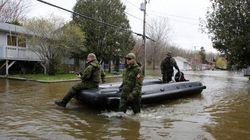 Inondations: le fédéral assumera les coûts du déploiement de