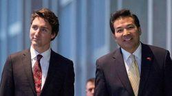 Trudeau en Chine: l'ambassadeur chinois au Canada a des attentes