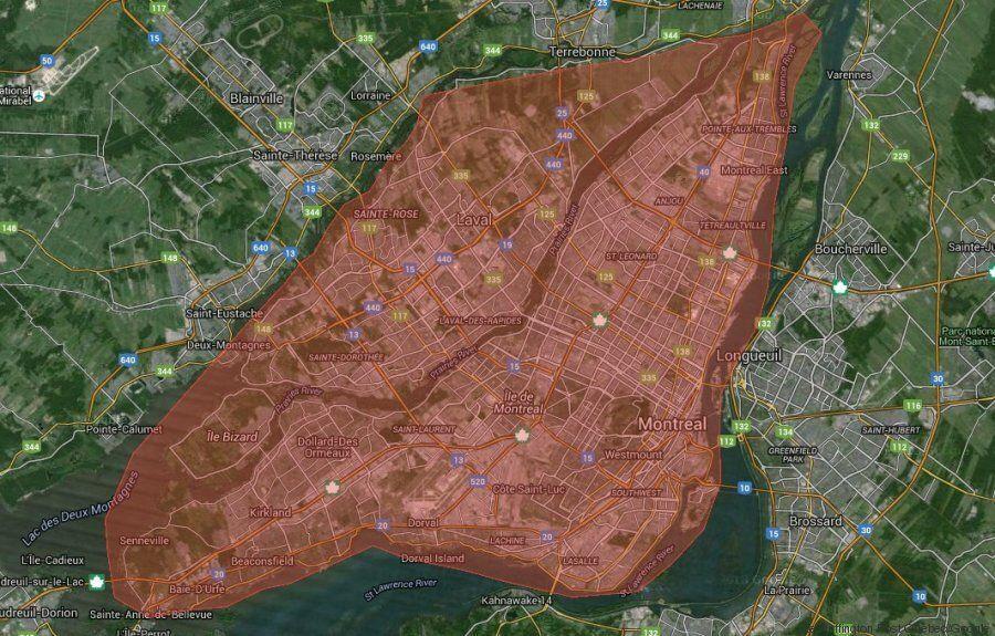 Ces cartes montrent toute l'ampleur du brasier de Fort