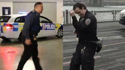 Le «running man challenge» prend de l'ampleur avec ces policiers