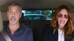 Pour éviter une amende au volant, il appelle George Clooney et Julia