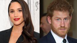 Voyez le premier baiser entre le Prince Harry et sa copine à un événement