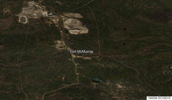 Feu de forêt à Fort McMurray: les satellites de la NASA montrent à quel point l'incendie s'est propagé...