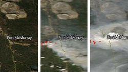Fort McMurray: les satellites de la NASA montrent la propagation des feux