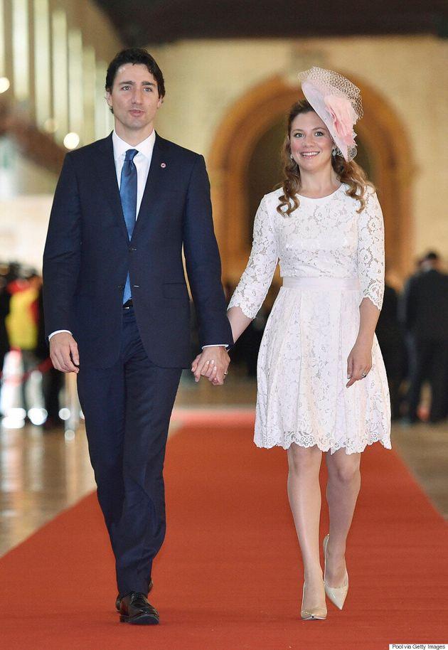 Justin et Sophie Grégoire Trudeau en tête de la liste des plus belles personnes du pays d'Hello!