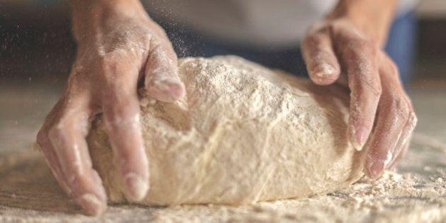 Kneading yeast