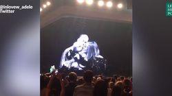 L'aparté baveux du dernier concert d'Adele