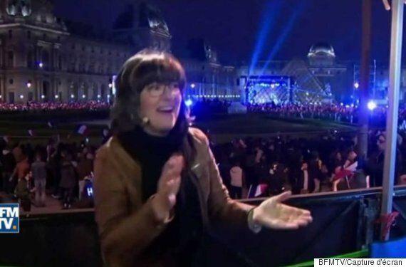 Cette journaliste de CNN n'a pas caché sa joie après la victoire d'Emmanuel