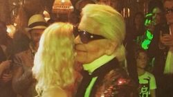 Karl Lagerfeld sait danser: voici la