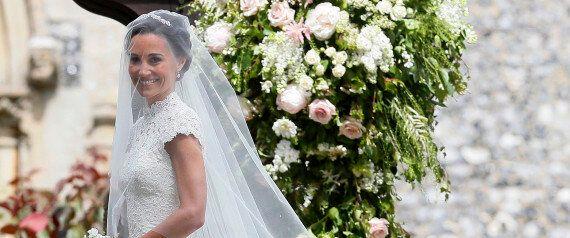 Tout le monde est pâmé devant la robe de mariage de Pippa