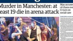 Terreur à Manchester: les unes de la presse