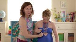 Ces mères ont la réaction parfaite devant les maillots à la