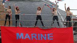 Voici l'action du jour des Femen pour protester contre Marine Le