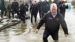 Inondations: évacuation forcée à