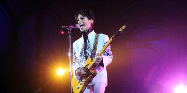 US singer Prince performs on October 11, 2009 at the Grand Palais in Paris. Prince has decided to give...