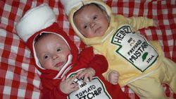 22 solutions pour déguiser des jumeaux pendant Halloween