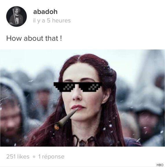 Les internautes réagissent à la scène finale du 2e épisode de «Game of Thrones» saison 6