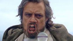 Luke Skywalker chante «All By Myself»