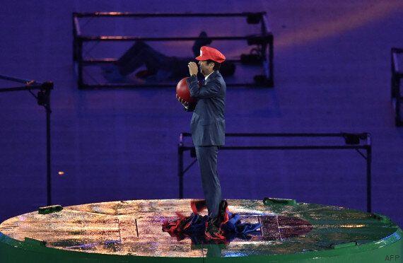 Cérémonie de clôture des JO: le Premier ministre japonais se transforme en Mario pour