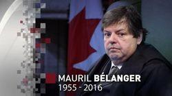 Les funérailles de Mauril Bélanger célébrées samedi