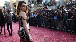 Anne Hathaway déculpabilise toutes les jeunes mamans avec une photo de jean