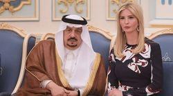 «Des progrès encourageants» en Arabie, juge Ivanka
