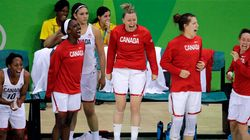 Le Canada défait la Serbie en basketball féminin lors du tour