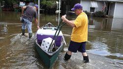 Inondations en Louisiane: les eaux se retirent, le nettoyage