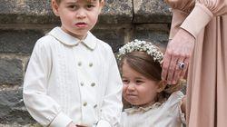 George et Charlotte ont réjoui les photographes au mariage de Pippa