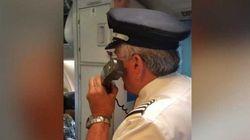 Voilà un pilote d'avion qui traite bien ses
