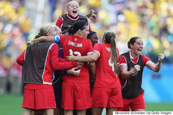 Rio 2016: les Canadiennes se consolent avec le bronze au