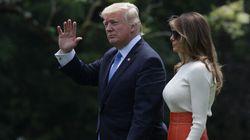 Trump quitte l'Amérique pour un voyage