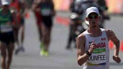 Médaille de bronze surprise pour un marcheur canadien après une