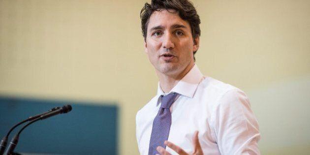 Justin Trudeau est enthousiaste face au projet de train électrique de la